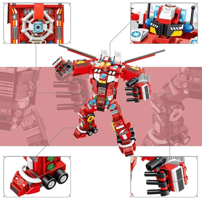 VATOS City Roboter Bausteine Roboter