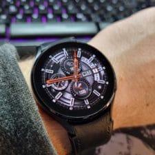 Samsung Galaxy Watch 4 Draufsicht