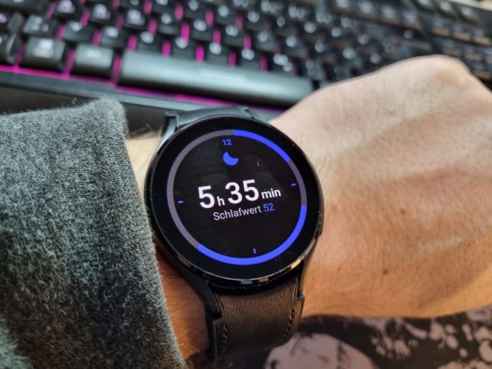 Samsung Galaxy Watch 4 AMOLED Display