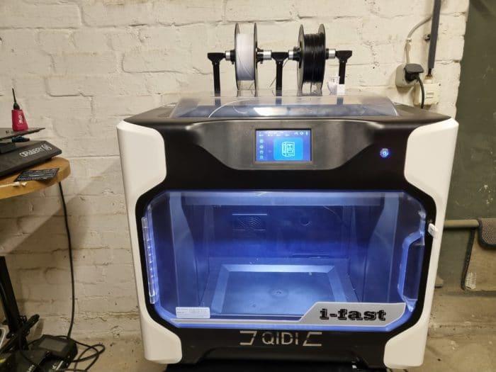 QIDI I-Fast 3D Drucker Test  Vorderansicht