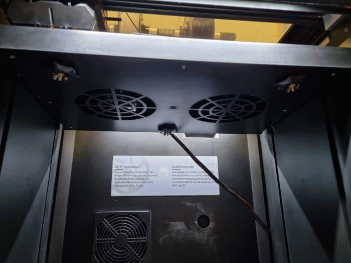 QIDI I-Fast 3D Drucker Test Leveln des Druckbett