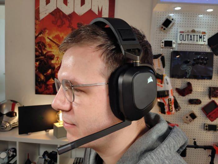 Gamingheadset Corsair HS80 RGB Wireless Ansicht