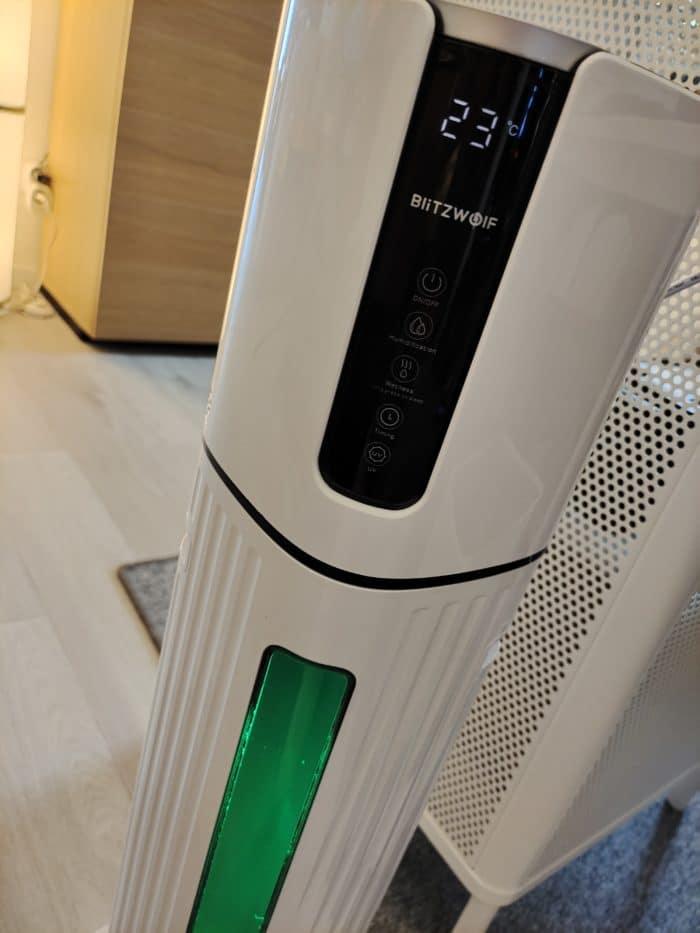 BlitzWolf Luftbefeuchter BW-SH33 Display