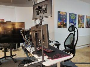 Neewer LED Videolicht für den Schreibtisch