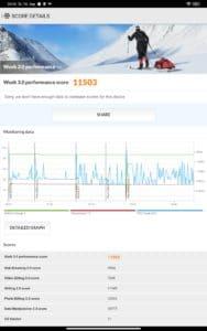 Xiaomi Mi PAd 5 Test Screenshots Performance