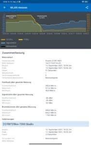 Xiaomi Mi PAd 5 Test Screenshots WLAN