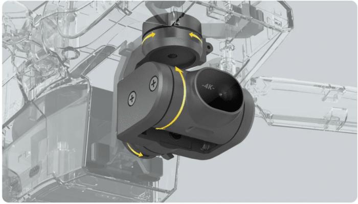 Fimi X8 Mini 3 Achsen Kamera Gimbal und 4K Kamera
