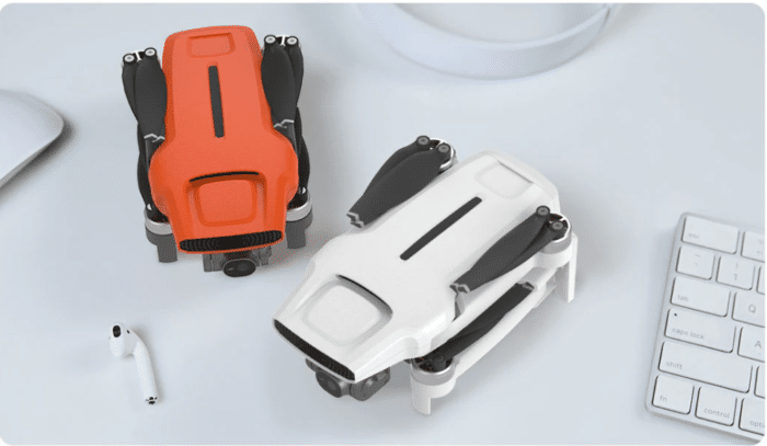 Fimi X8 Mini in Zwei Farben Orange und Weiß