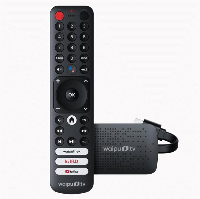 Waipu.Tv 4k stick Fernbedienung und 4kStick