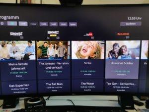 Waipu.Tv 4k Stick Senderübersicht