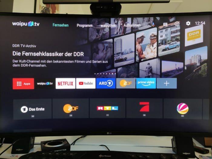 Waipu.Tv 4k Stick Android TV