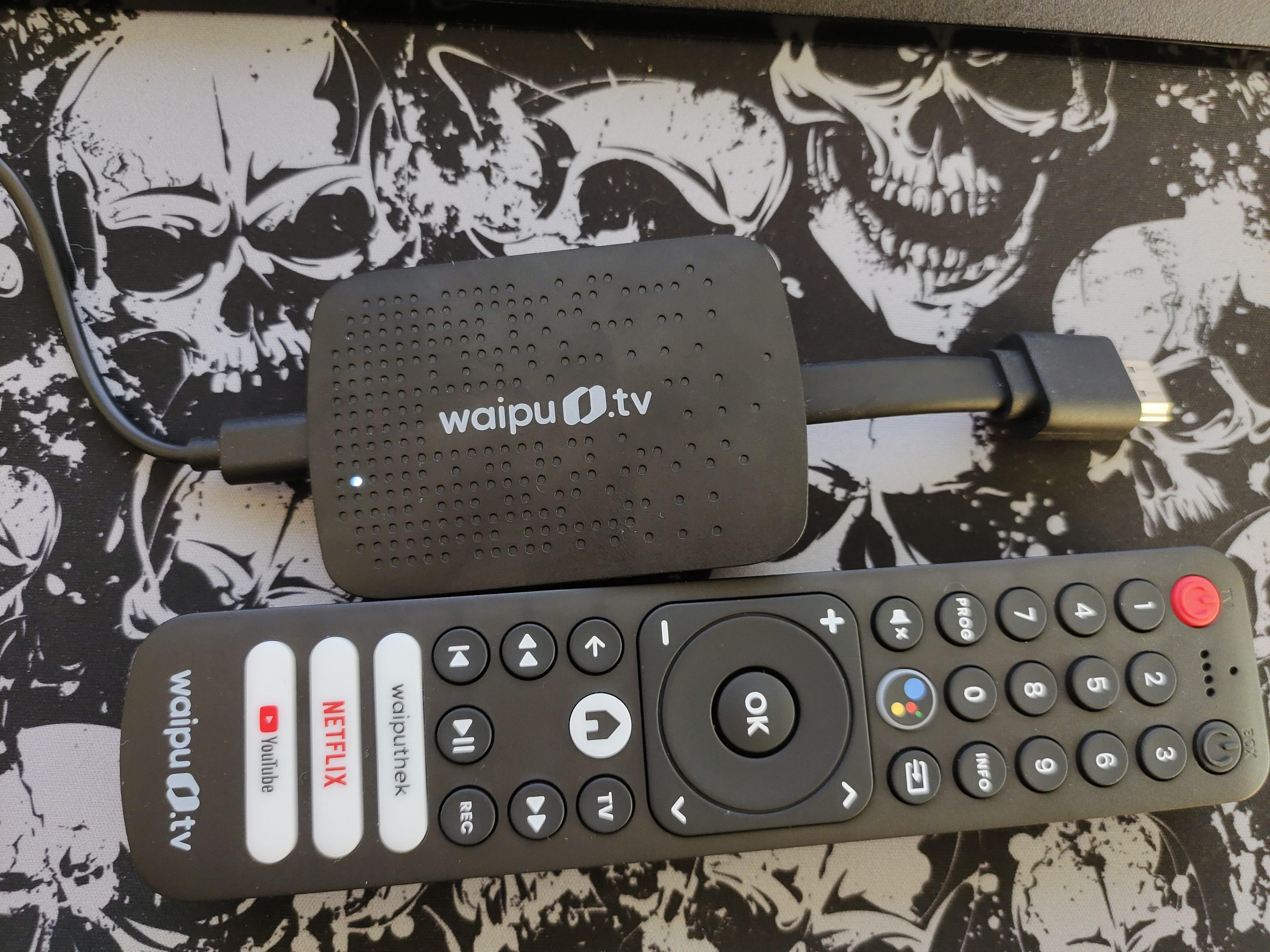 Waipu.Tv 4k stick Fernbedienung und 4K Stick